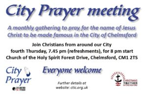 Giving a Cross Initiative – Christians Together in Chelmsford (CTiC)