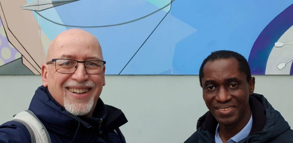 David & Obenga in Chelmsford, February 2020